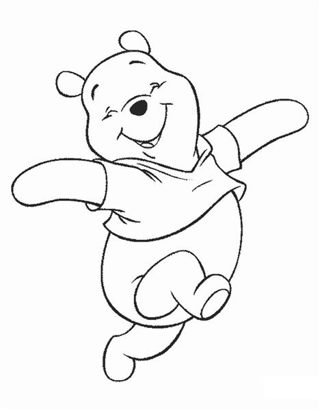 Winnie The Pooh Coloring Pages 2
