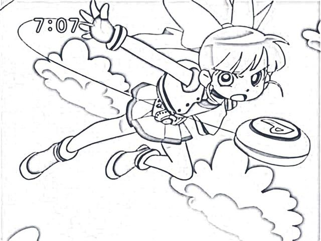 Power Puff Girls Z Coloring Pages 1