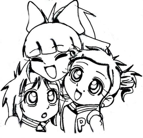 Power Puff Girls Z Coloring Pages 6