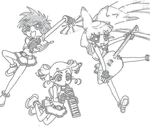Power Puff Girls Z Coloring Pages 7