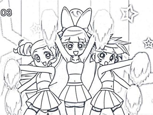 power puff girls z coloring pages - Colouring Pictures For Girls
