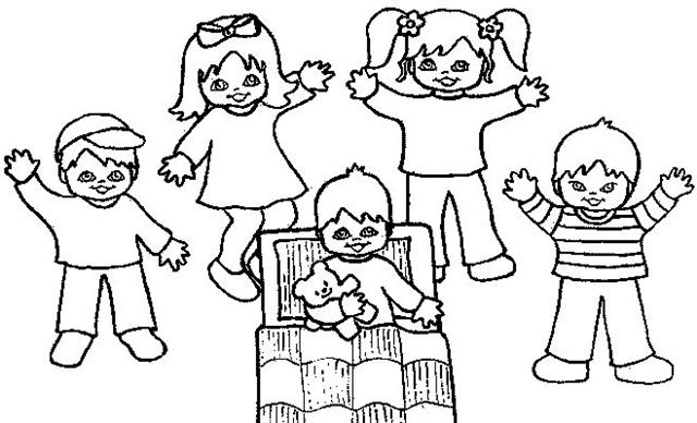 Preschool Coloring Pages 4