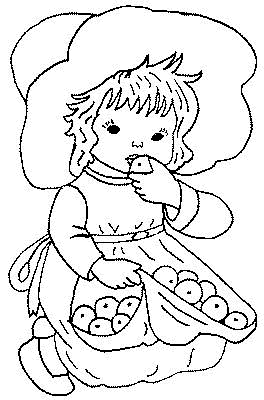 Preschool Coloring Pages 7
