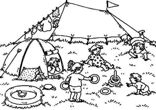 Preschool Coloring Pages 9