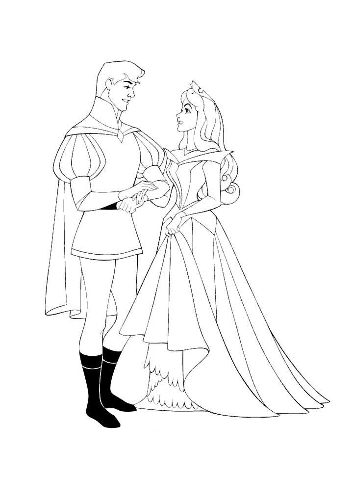 princess aurora coloring pages 9