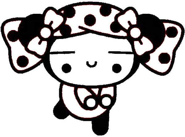 Pucca Coloring Pages 7