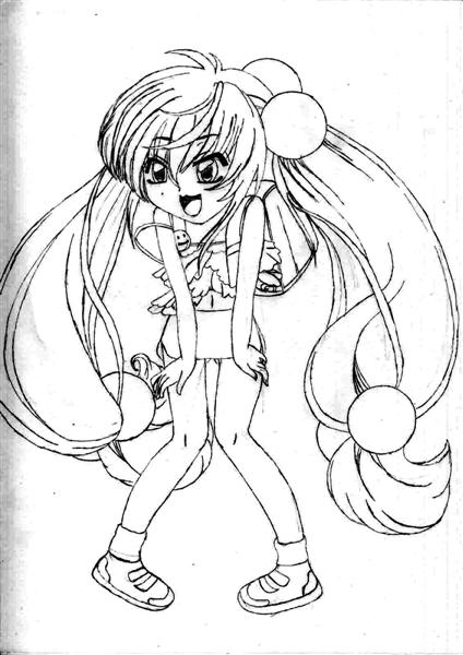 Shakugan No Shana II Coloring Pages 1