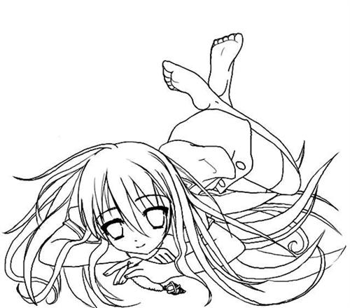 Shakugan No Shana II Coloring Pages 5