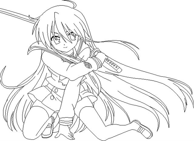 Shakugan No Shana II Coloring Pages 9