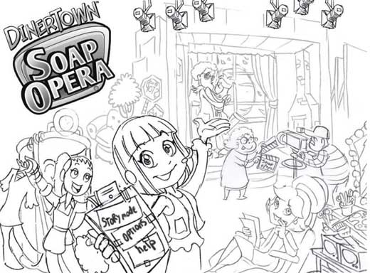 Soap Dash Coloring Pages 1