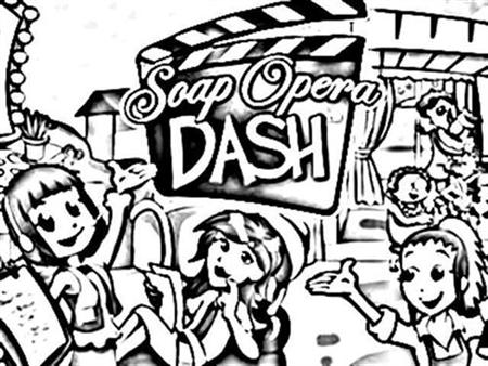 Soap Dash Coloring Pages 2