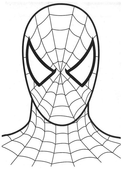 Spiderman Coloring Pages 1