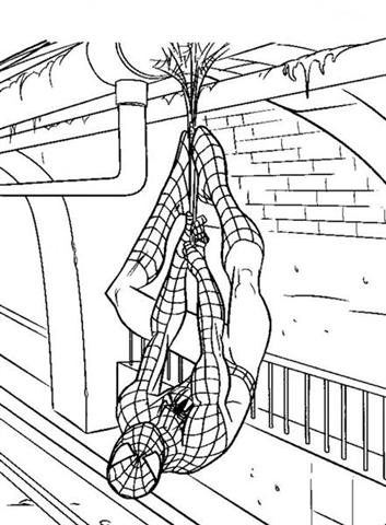 Spiderman Coloring 7