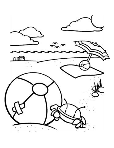 Coloring Pages Summer 5