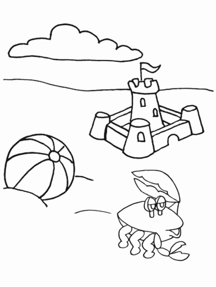 Coloring Pages Summer 9