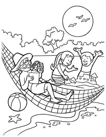Coloring Pages Summer 3