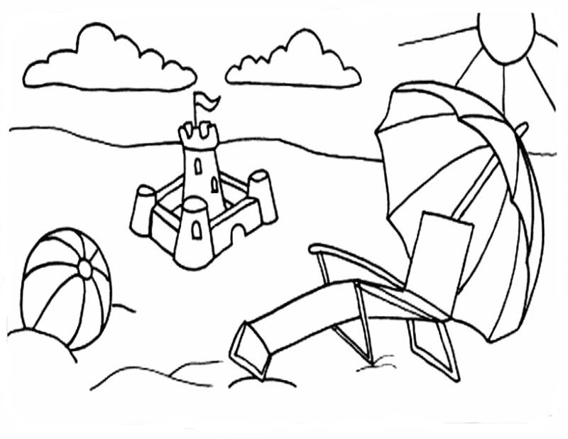 Coloring Pages Summer 12