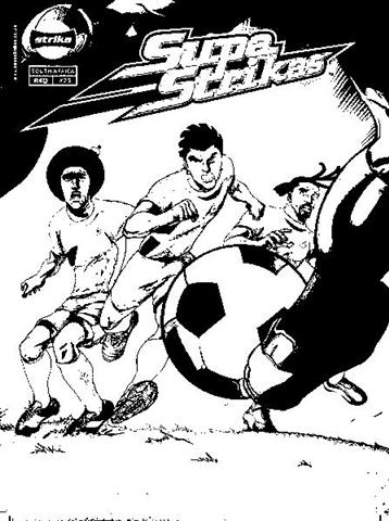 Supa Strikas Coloring Pages 10