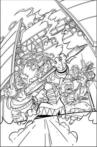 Super Hero Squad Show Coloring Pages 1
