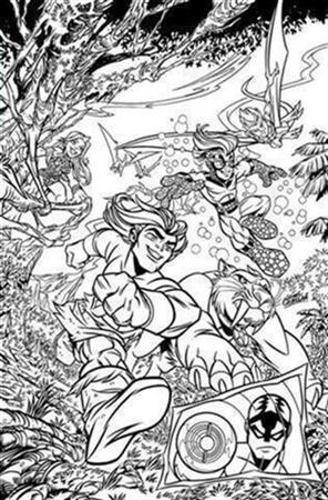 Super Hero Squad Show Coloring Pages 3