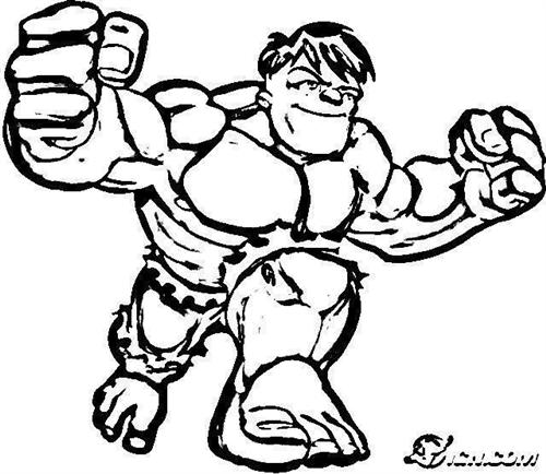 Super Hero Squad Show Coloring Pages 4