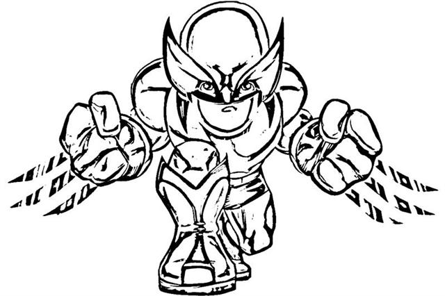 Super Hero Squad Show Coloring Pages 6