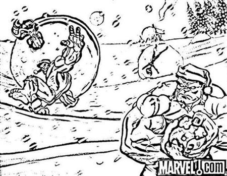 Super Hero Squad Show Coloring Pages 8