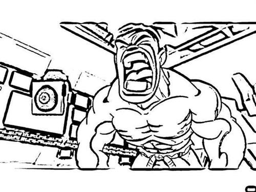 Super Hero Squad Show Coloring Pages 9
