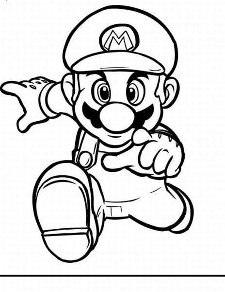 Super Mario Coloring Pages 6