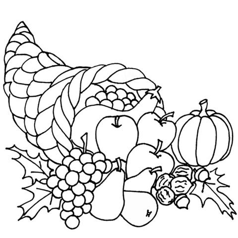 Thanksgiving Coloring Pages 6