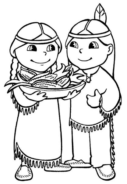 Thanksgiving Coloring Pages 11