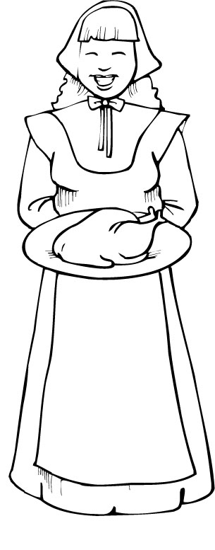 Thanksgiving Coloring Pages 12