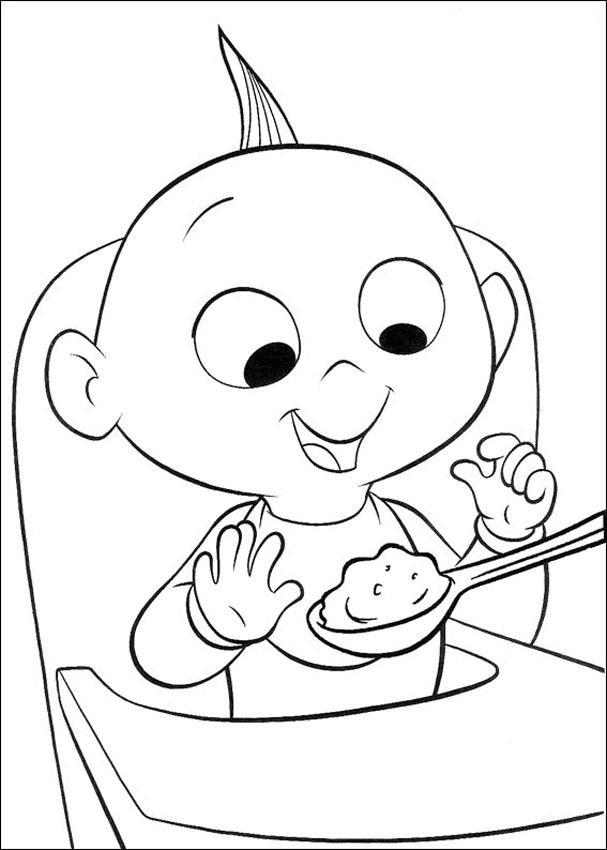 The Incridible Coloring Pages 10