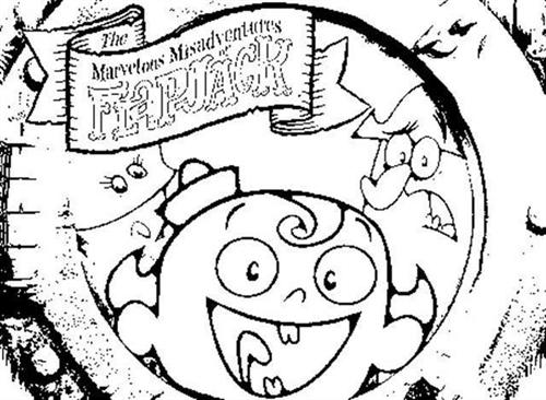 The Marvelous Adventure of Flapjack Coloring Pages 1