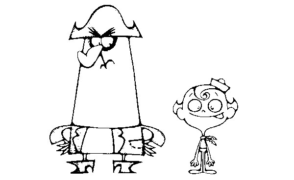 The Marvelous Adventure of Flapjack Coloring Pages 10