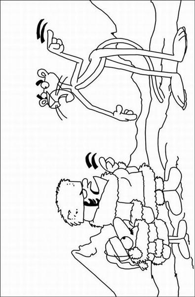 The Pink Panther Show Coloring Pages 11