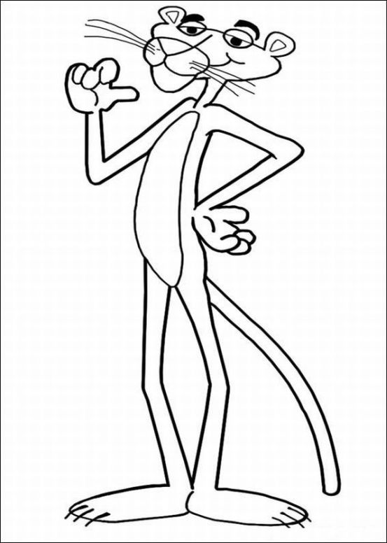 The Pink Panther Show Coloring Pages 5