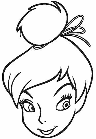 Tinkerbell Coloring 6
