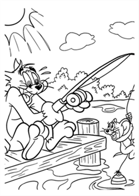 Tom and Jerry The Movie Coloring Pages 2