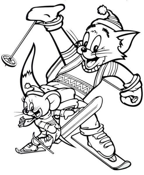Tom and Jerry The Movie Coloring Pages 5