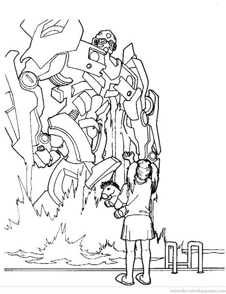 Transformer Coloring Pages 2